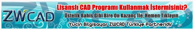 ZWCAD 2009 Standart - AutoCAD Uyumlu